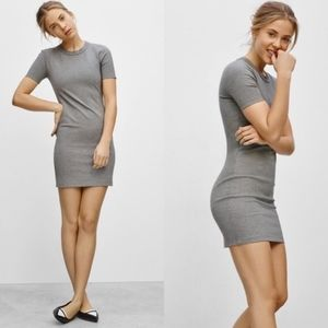 Aritzia Sunday Best Fitted Miller Tshirt Dress